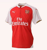 Buy Puma Arsenal 2015/16 Home T-shirt at ? 4,299 Via amazon