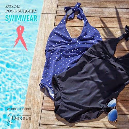 bañadores y bikinis para mujeres operadas de cancer de mama de Women'secre