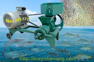 máy chế biến thức ăn thủy sản