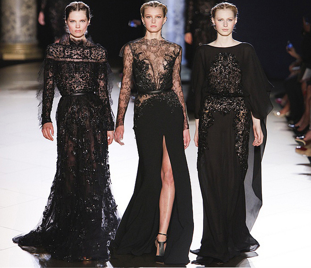 Plum in the city elie saab haute couture fall 2012 for Haute couture translation