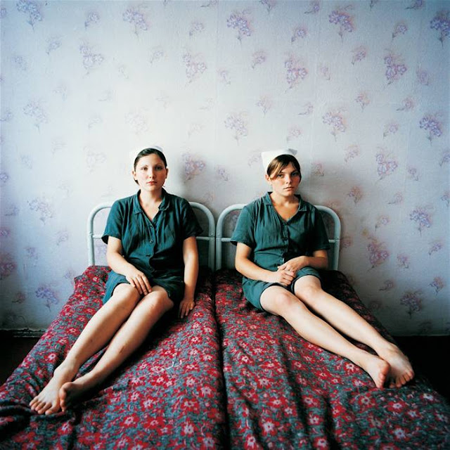 Lena and Katya, Juvenile Prison for Girls, Ukraine 2009