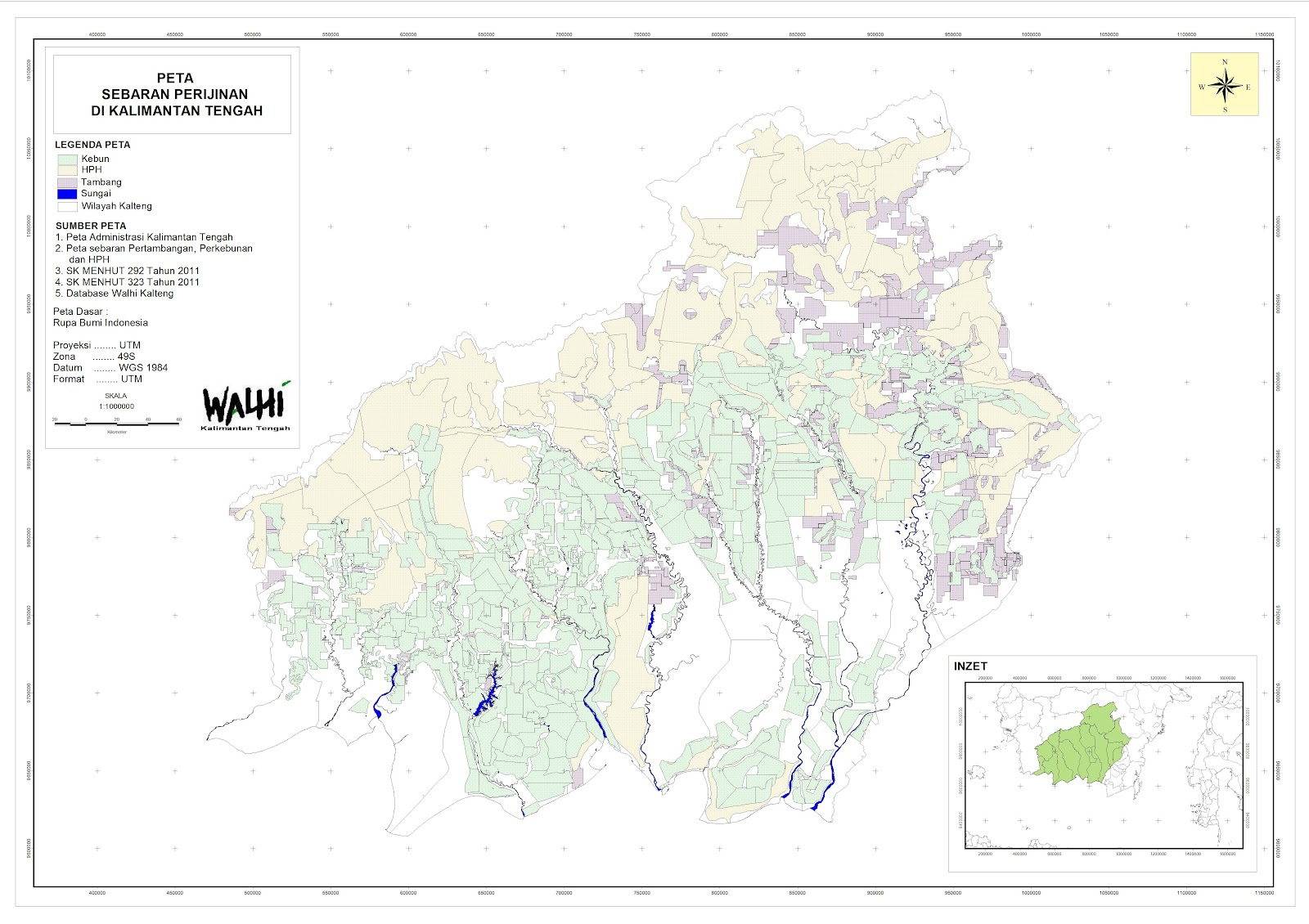 Central Borneo Forest & People: Kalimantan Tengah milik siapa?