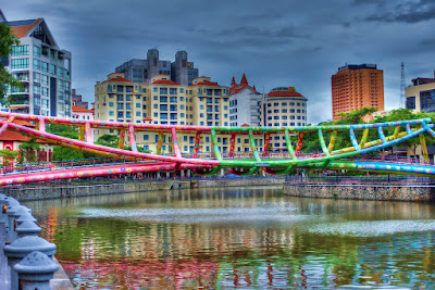 Giá vé máy bay đi Singapore - Cầu Jubilee