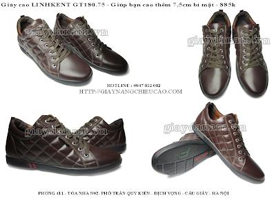 Giày nam đẹp GT180. 75