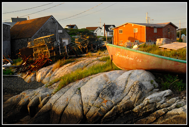 Nova Scotia; Peggy's Cove