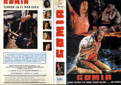 Cover, Dvd, Caratula: Gomia, terror en el Mar Egeo | 1980 | Antropophagus