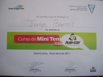 Diploma AAT Curso MiniTenis
