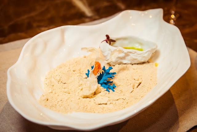 Авторское блюдо Александра Мухина Ньокки из батата с «тигриным молоком» с ноткой Nespresso Peru Secreto