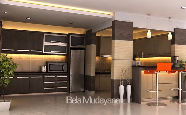 Desain Kitchen Set Dan Mini Bar Minimalis Modern Part 36