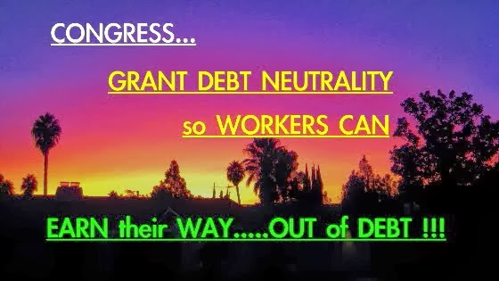 PLEASE SIGN the DEBT NEUTRALITY PETITION at CHANGE DOT ORG.