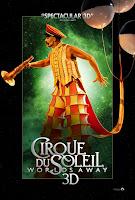 cirque du soleil worlds away 3d new poster 3
