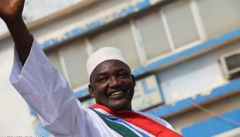 GAMBIA HAS A NEW PRESIDENT, BARROW.