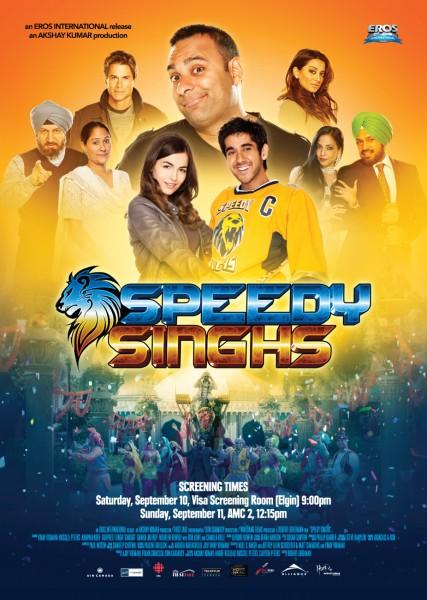Poster Of Speedy Singh 2011 DVDRip Panjabi