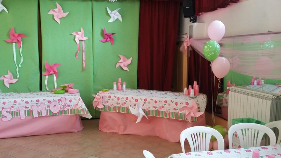 Decorazioni Sala Battesimo : Addobbo sala battesimo