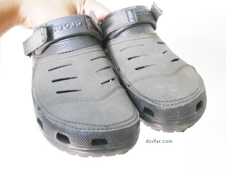 Sandal crocs Palsu 2