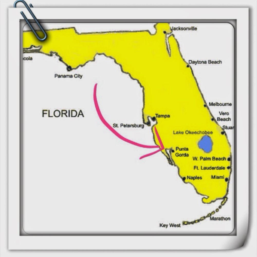 Florida Teacher Blog Hop Th Grade Frolics - Florida map activities 4th grade