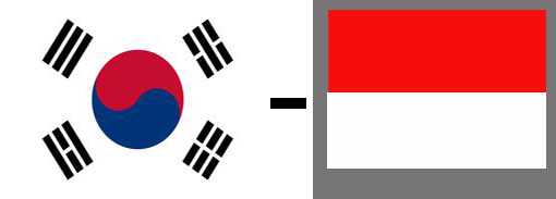korea ke indonesia
