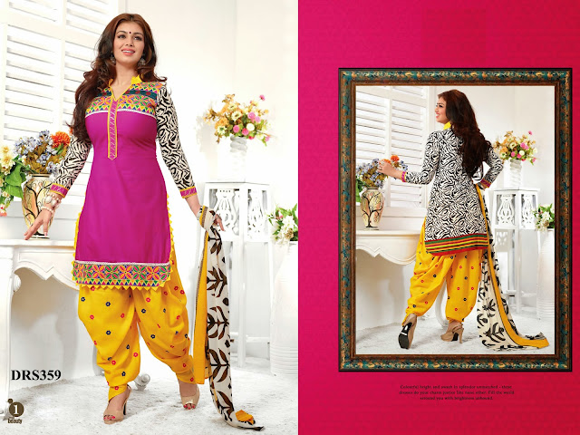 Ayesha Takia Cotton Patiala Dress Material