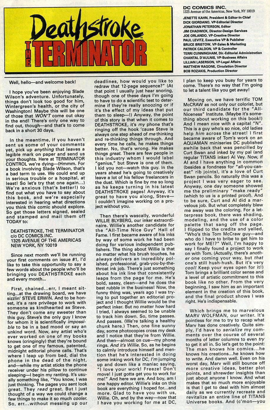 Deathstroke (1991) Issue #3 #8 - English 31