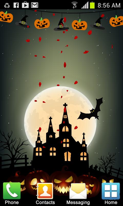 Halloween Live Wallpaper FREE Download Link
