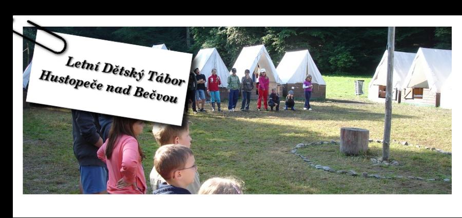 Letní Dětský Tábor Hustopeče nad Bečvou