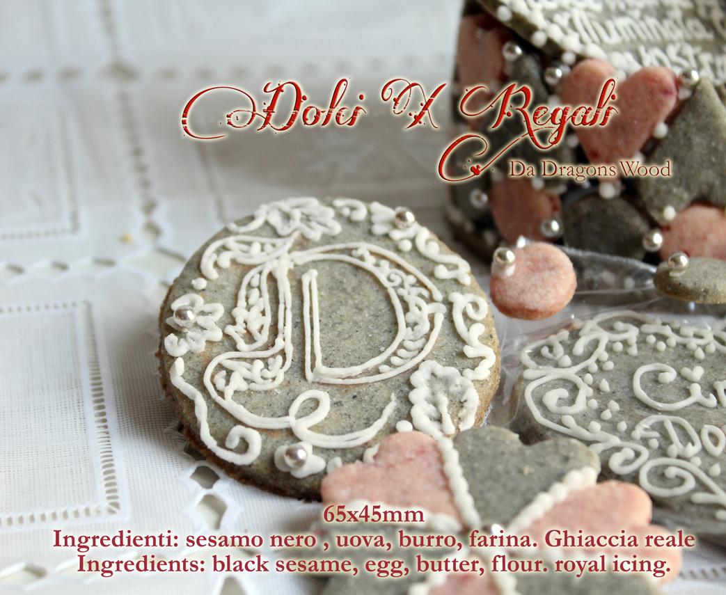 Fabuleux Regali e segnaposto per matrimonio argento-scatola biscotti fatto  YP34