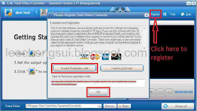 registration code for total video converter standard version 3.71