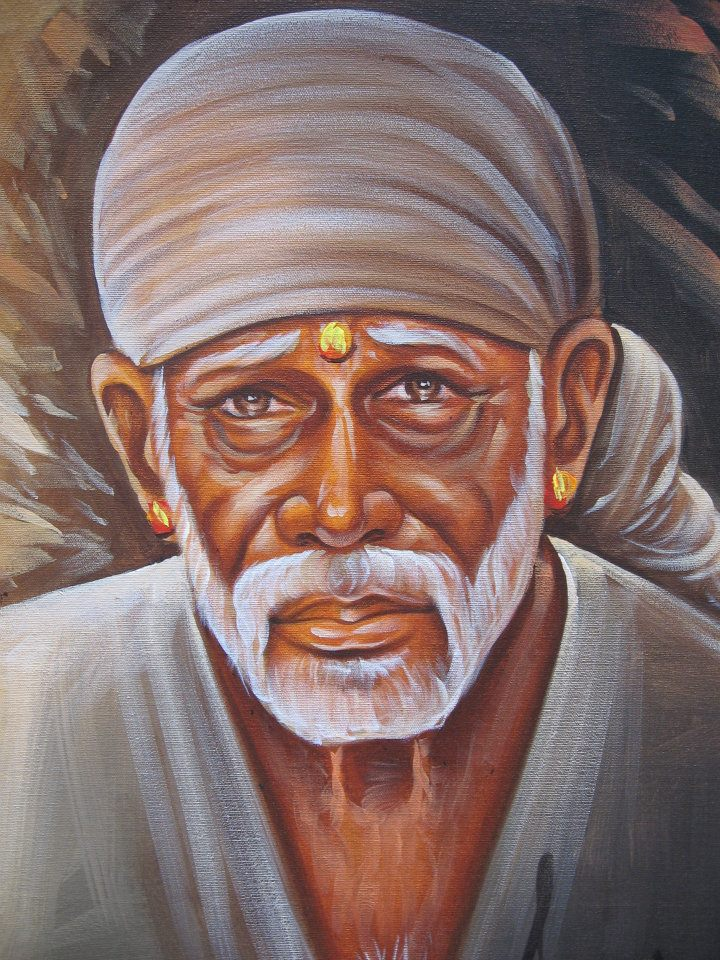 Incredible Shirdi Sai Baba Oil Paintings Shirdi Sai Baba