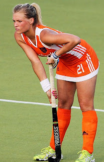 Hockey Player Sophie Polkamp