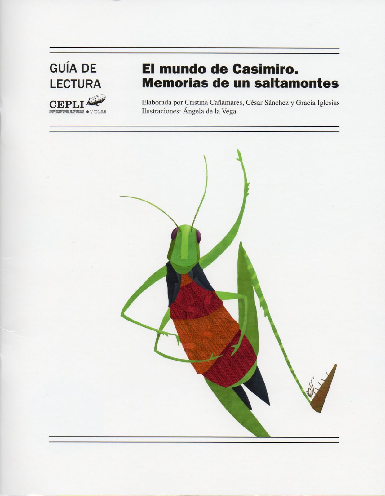 GUIA DE LECTURA "El mundo de Casimiro"