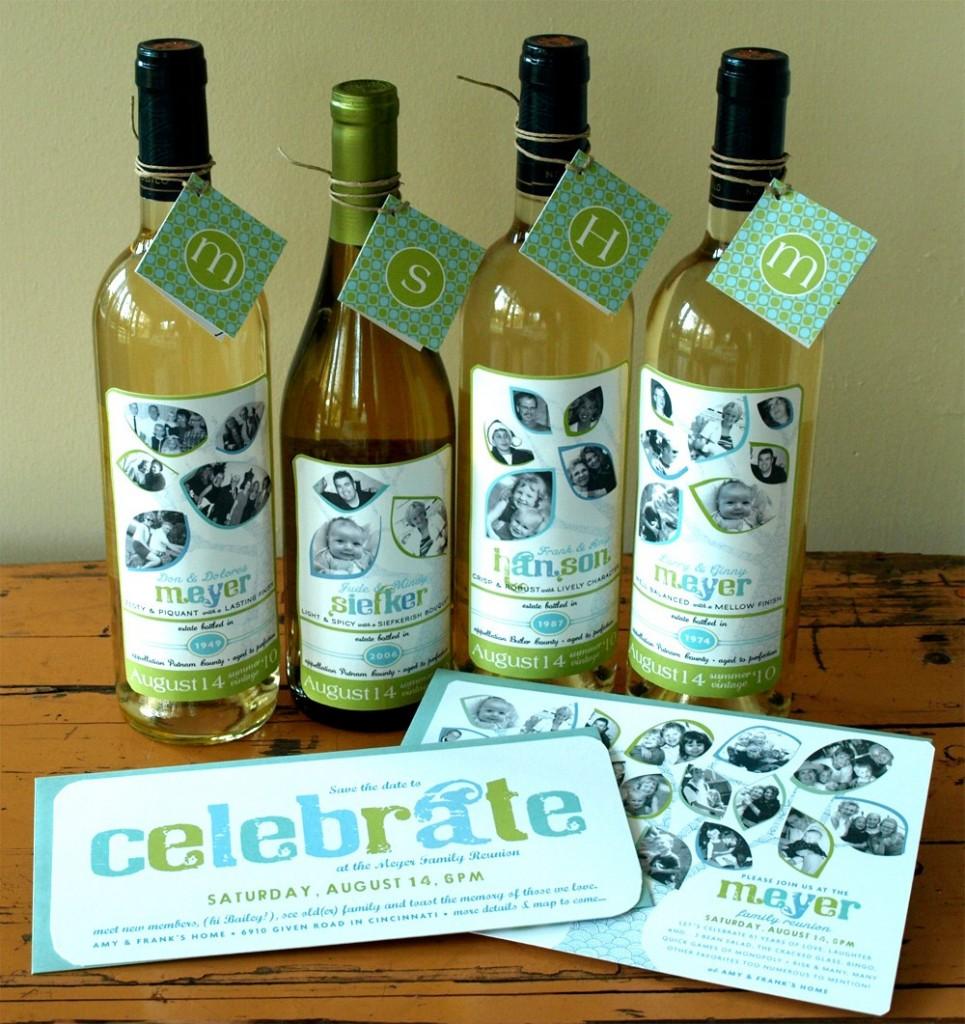 Diy Wine Bottle Labels Loosh Creations Personalised Wine Bottle Label Ideas