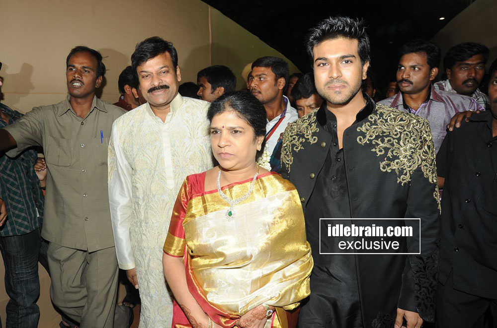 Chiranjeevi And His Family Photos 3 All About India
