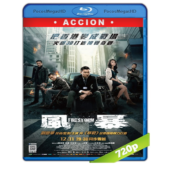 Firestorm(2013) BrRip 720p Chino AC3+subs