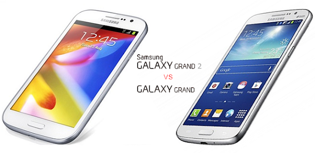 Samsung Galaxy Grand 2 vs Grand Duos Specs Comparison