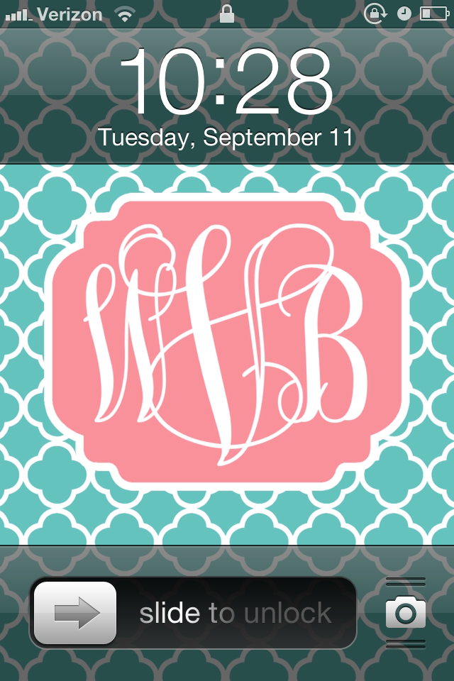 Create a monogram wallpaper video search engine at for Design your own wallpaper