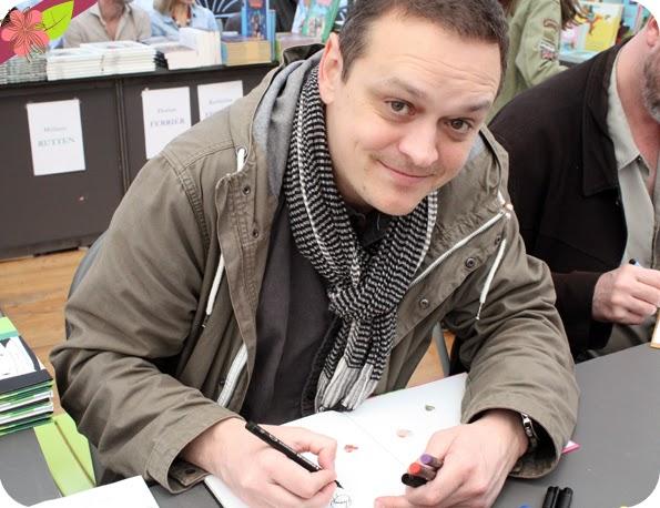 Antoine Guilloppé - Escale du livre 2015 - Bordeaux