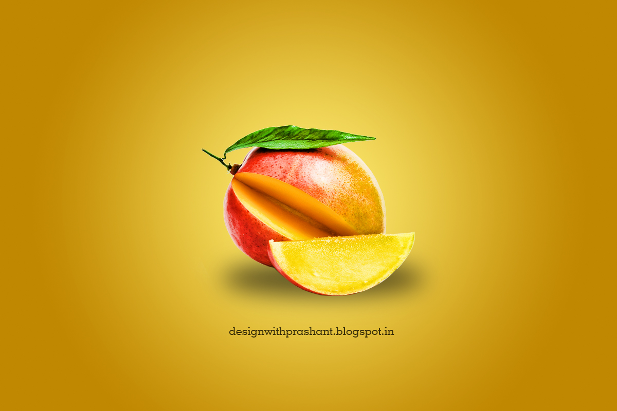 Poster design in photoshop - Photoshop Fruit Poster