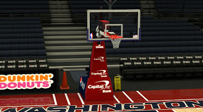 NBA 2K14 Washington Wizards Backboard Mod