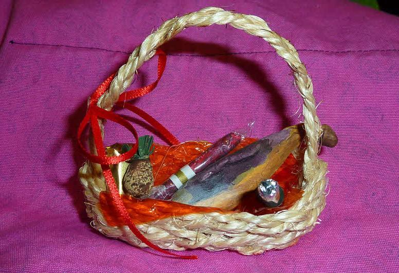 Artesan as llacor cesta de navidad for Cesta arbol navidad