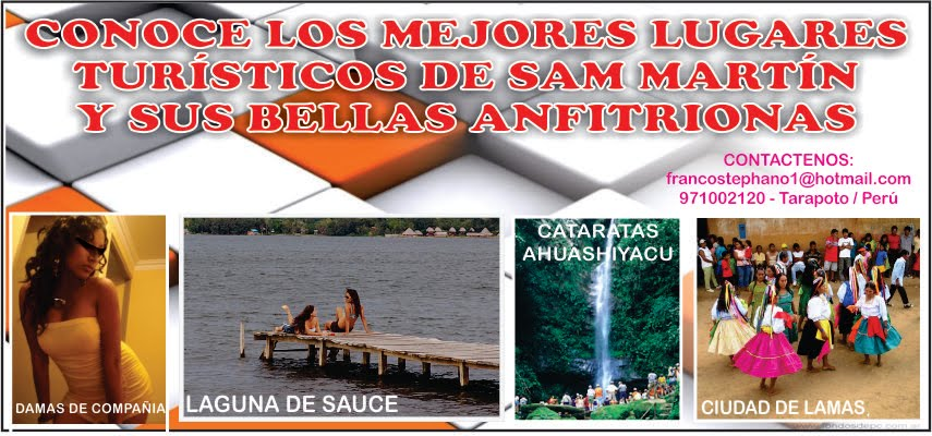 Turismo y Aventura en San Martin.