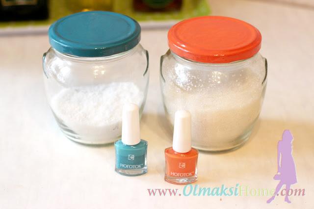 баночки для соли и сахара