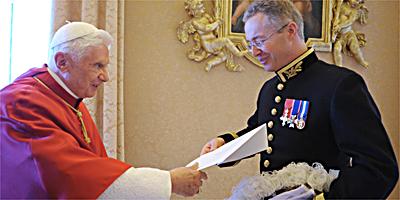 Il magistero di benedetto xvi il papa all 39 ambasciatore for Unito lettere