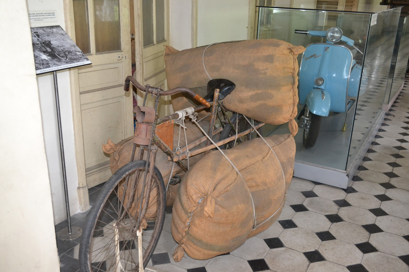Cycles used for supply during Vietnam war