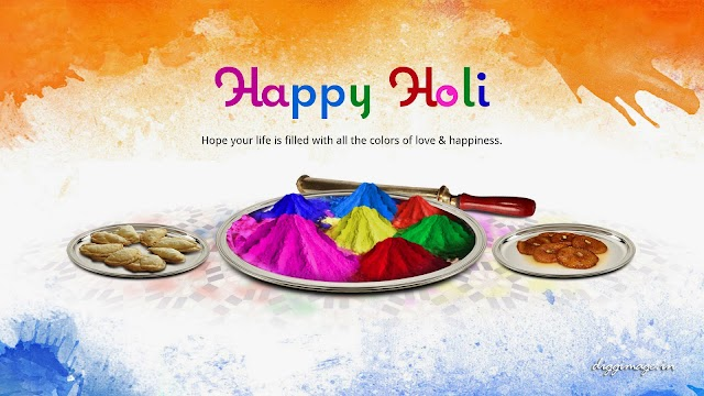 Hope your life is filled with all colors of love and happiness.. Happy Holi greetings