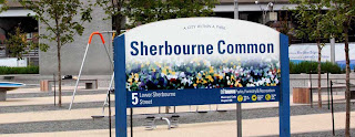 Sherbourne Common storm sewer water treatment