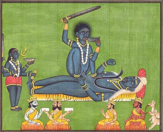 Maa kali or Bhagwan Shiv Kamasutra Tips Images, Photos and Pics for Free Download