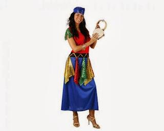 Disfraces de Halloween para Mujer, Gitanas, parte 2