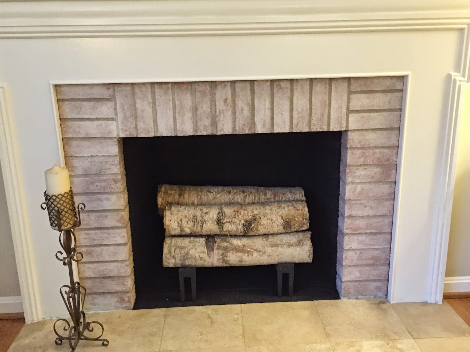 one sweet world quick fireplace paint project