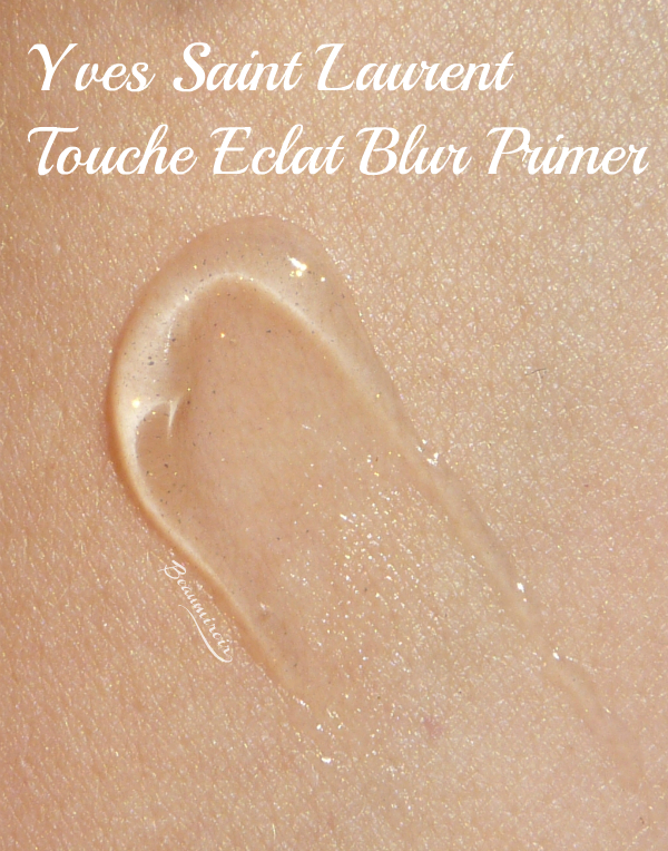 Touche Eclat Blur Primer review, photos, swatches