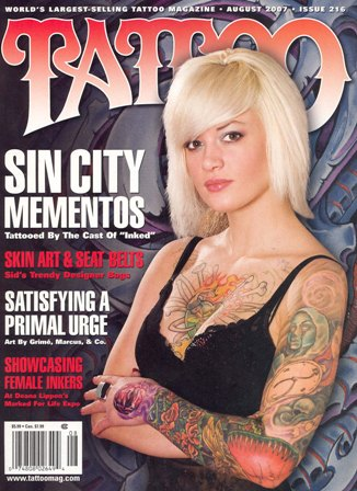 Princess Tattoos: Inked magazine